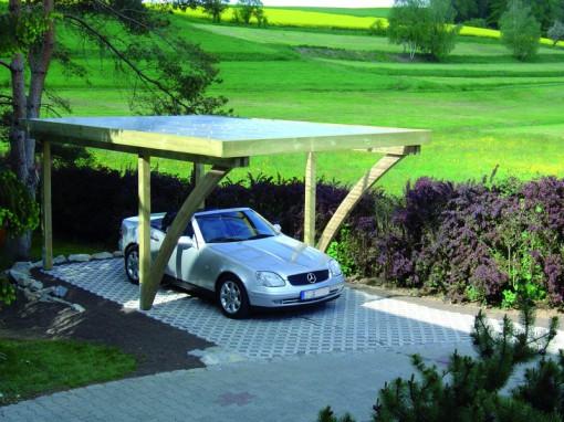 Karsten-Carports Flachdach-Carport