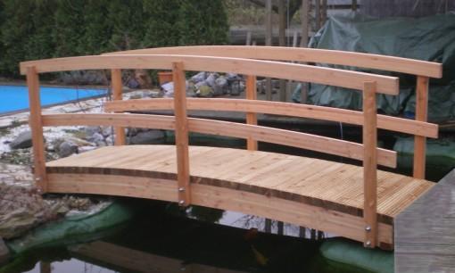 Karsten-Carports Holzbrücke